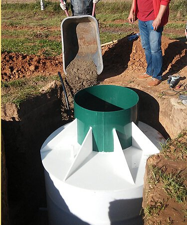 Техническое обслуживание пластикового кессона